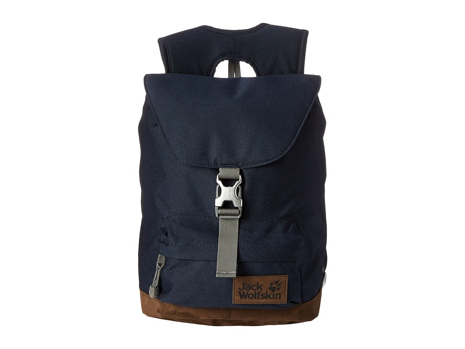 Jack Wolfskin - Queensbury (Night Blue) Backpack Bags