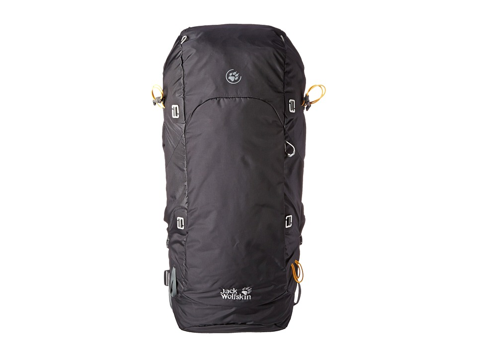 Jack Wolfskin - EDS Dynamic Pro 48 Pack (Black) Backpack Bags