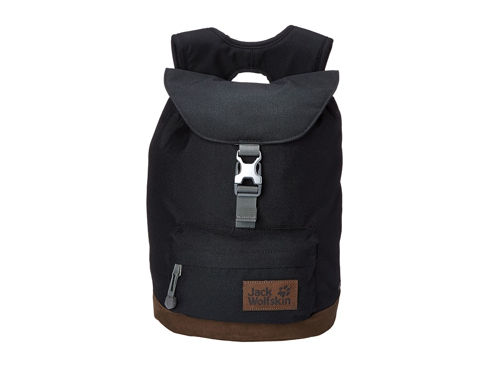 Jack Wolfskin - Queensbury (Black) Backpack Bags