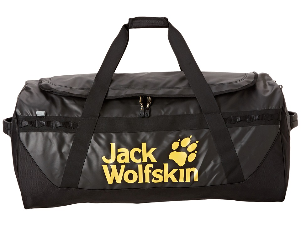 Jack Wolfskin - Expedition Duffel 130 Liters (Black) Duffel Bags