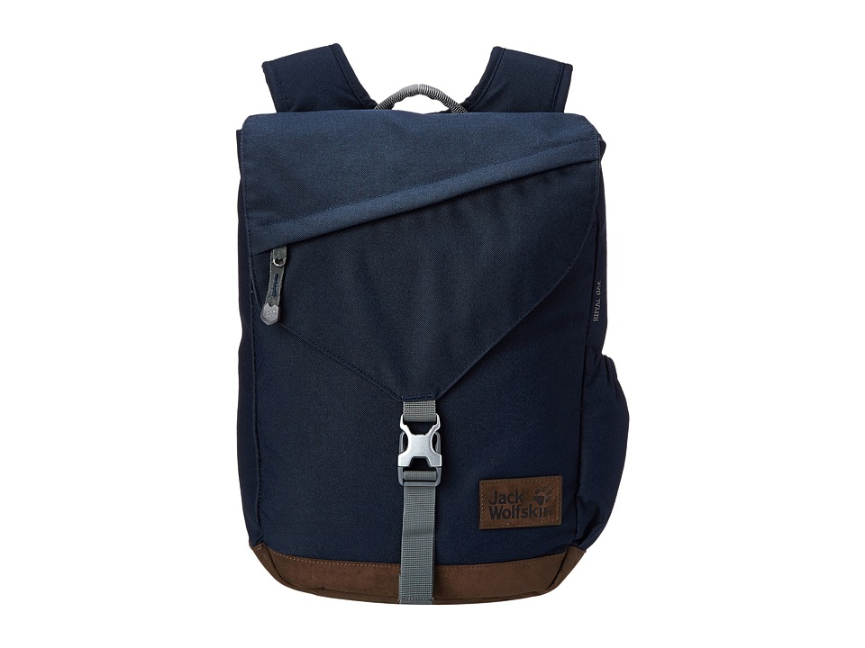 Jack Wolfskin - Royal Oak (Night Blue) Backpack Bags