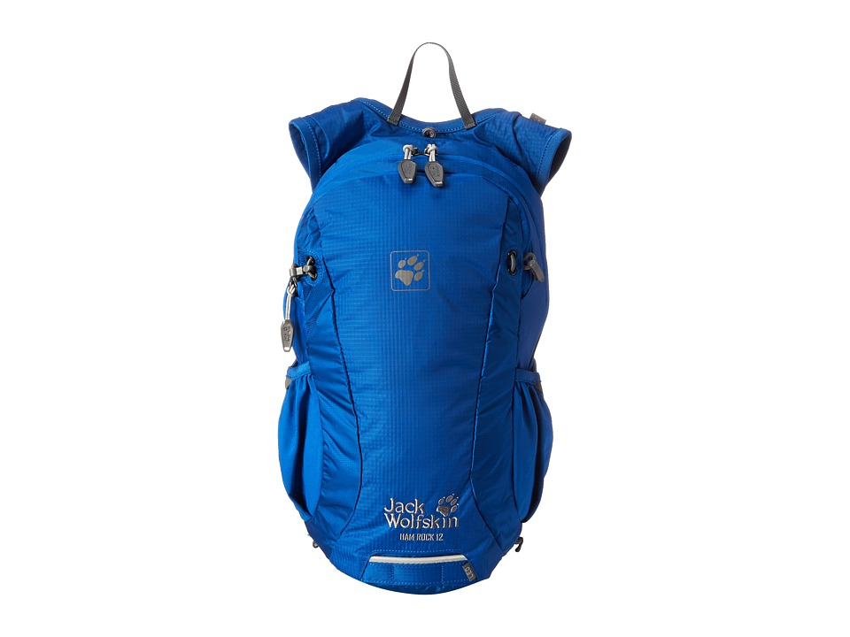 Jack Wolfskin - Ham Rock 12 (Classic Blue) Backpack Bags