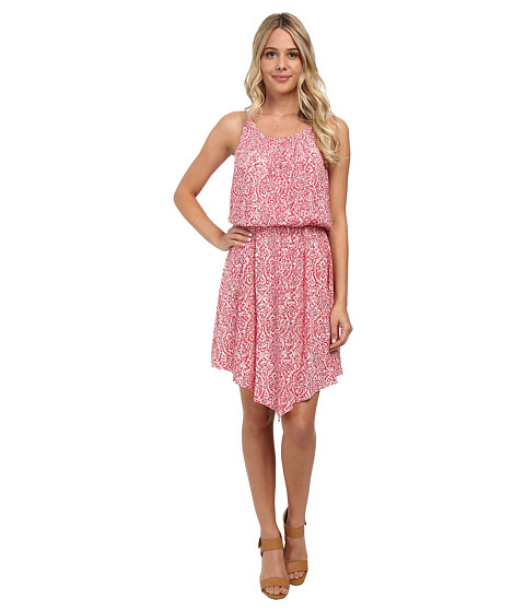 Splendid - Paisley Print Dress (Bonfire) Women
