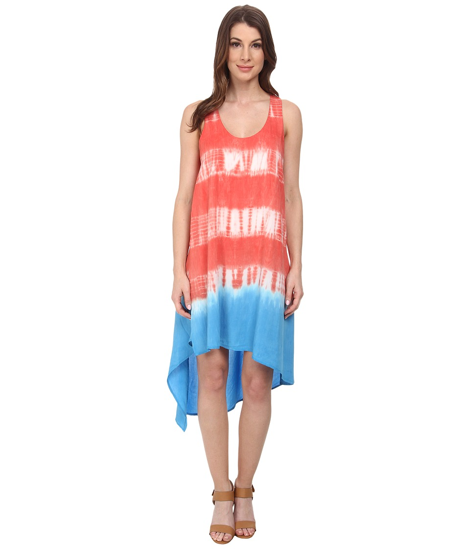 Splendid Karpaz Tie-Dye Dress (Bonfire) Women