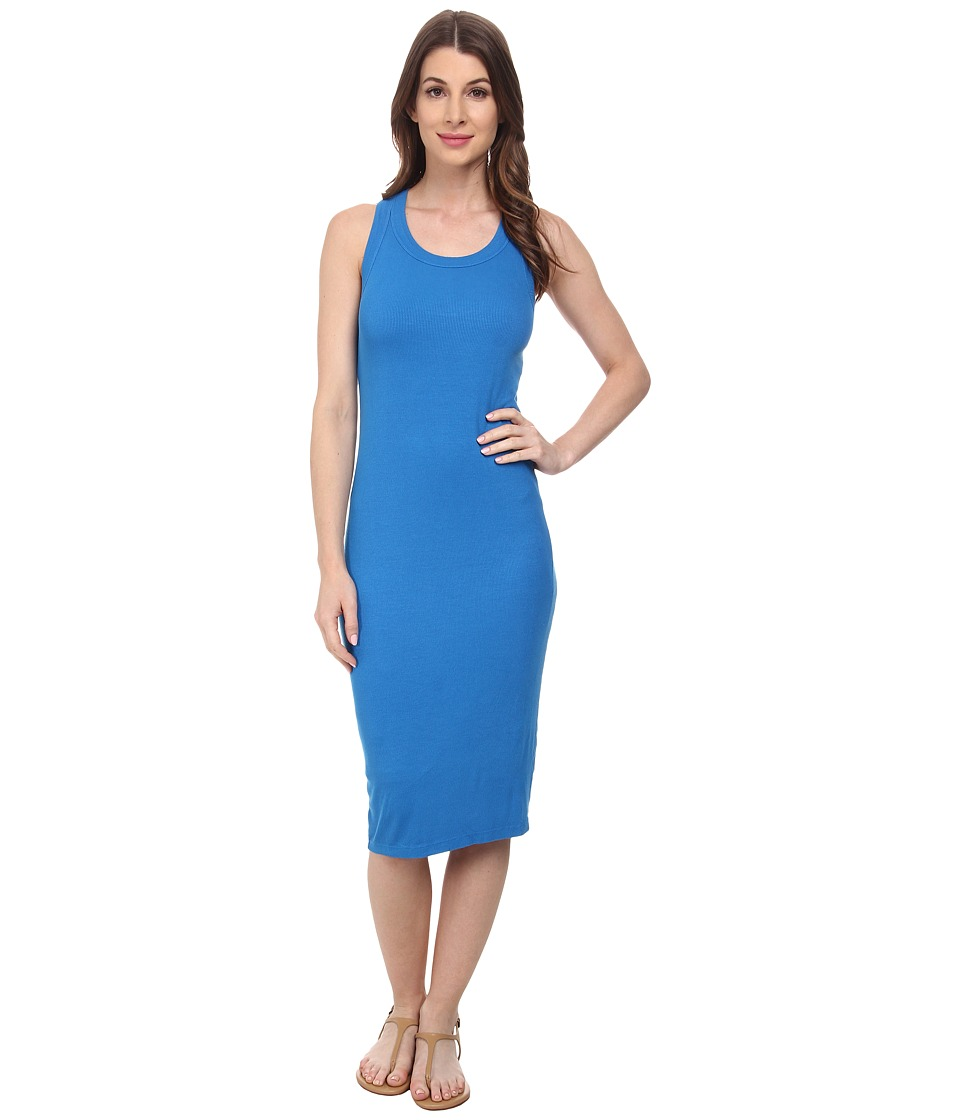 Splendid Colorblock Racerback Dress (Mediterranean) Women