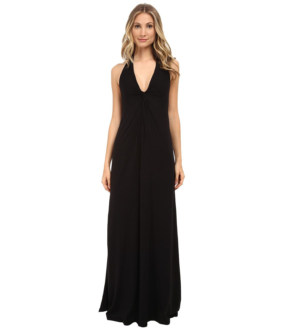 Splendid - Jersey Maxi Dress (Black) Women's Dress