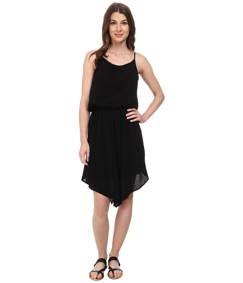 Splendid Rayon Voile Dress (Black 1) Women