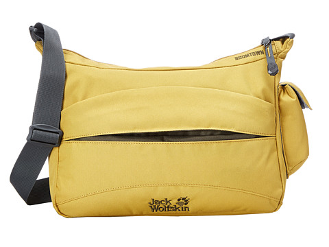 Jack Wolfskin - Boomtown (Yellow Moss) Backpack Bags