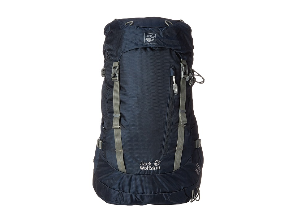 Jack Wolfskin - ACS Hike 24 Pack (Night Blue) Backpack Bags