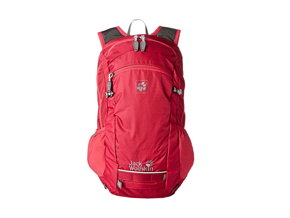 Jack Wolfskin - Moab Jam 18 (Azalea Red) Backpack Bags