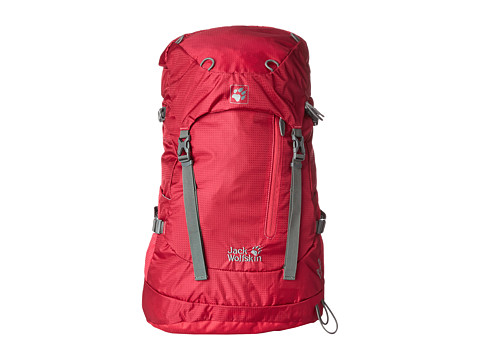 Jack Wolfskin - ACS Hike 24 Pack (Azalea Red) Backpack Bags