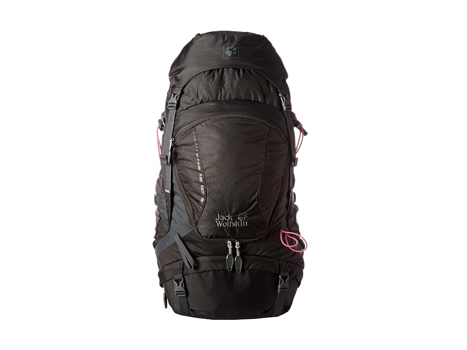 Jack Wolfskin - Highland Trail 35 (Dark Steel) Backpack Bags