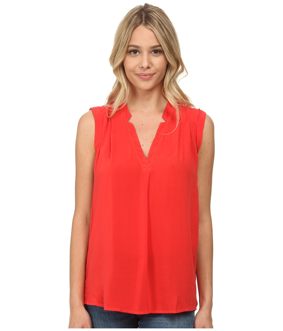 Splendid - Rayon Voile Tank Top (Bonfire) Women's Sleeveless