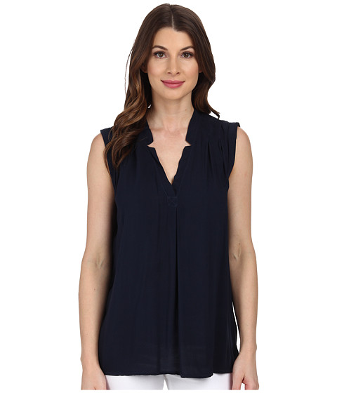 Splendid - Rayon Voile Tank Top (Navy) Women's Sleeveless