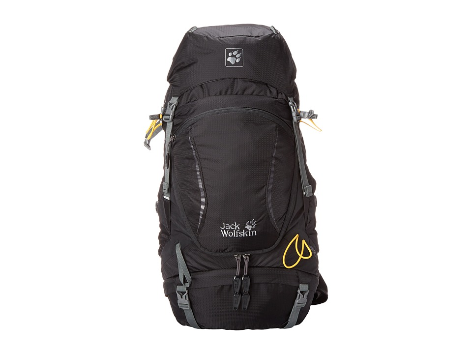 Jack Wolfskin - Highland Trail 35 (Black) Backpack Bags