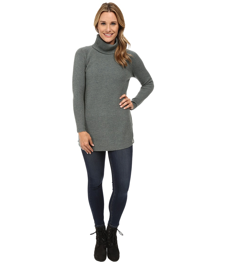 Woolrich - Clapshaw Cowl Tunic (Blue Fir Heather) Women's Sweater