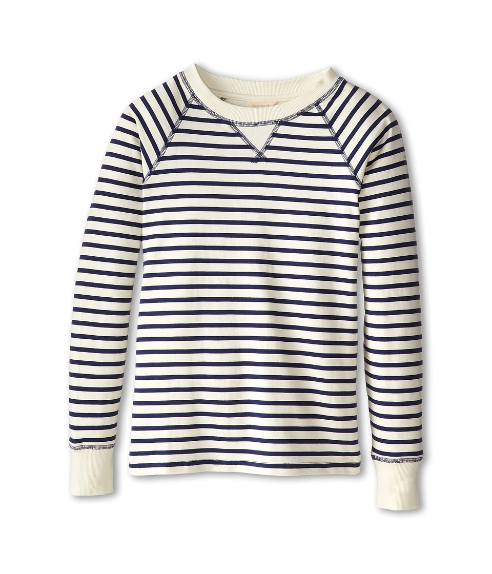 Dockers Misses - French Terry Sweatshirt (Jane Stripe/Oatmeal) Women's Sweatshirt