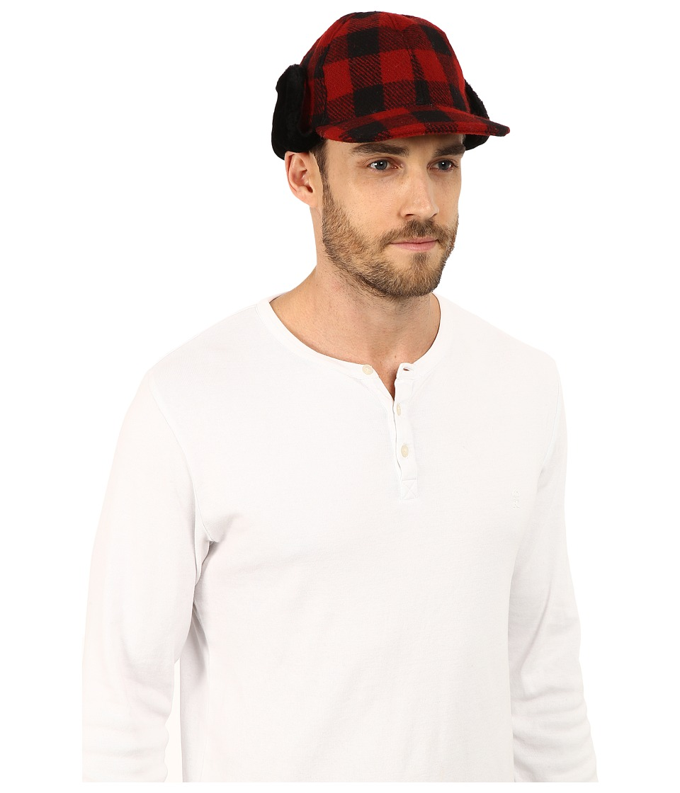 UGG - McLain Buffalo Plaid Trapper (Black Multi) Cold Weather Hats