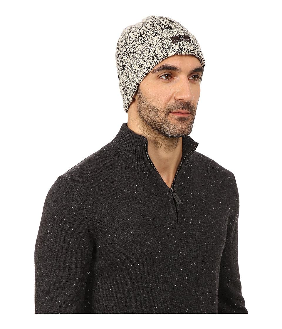 UGG - Calvert Cuff Hat (Black Multi) Beanies