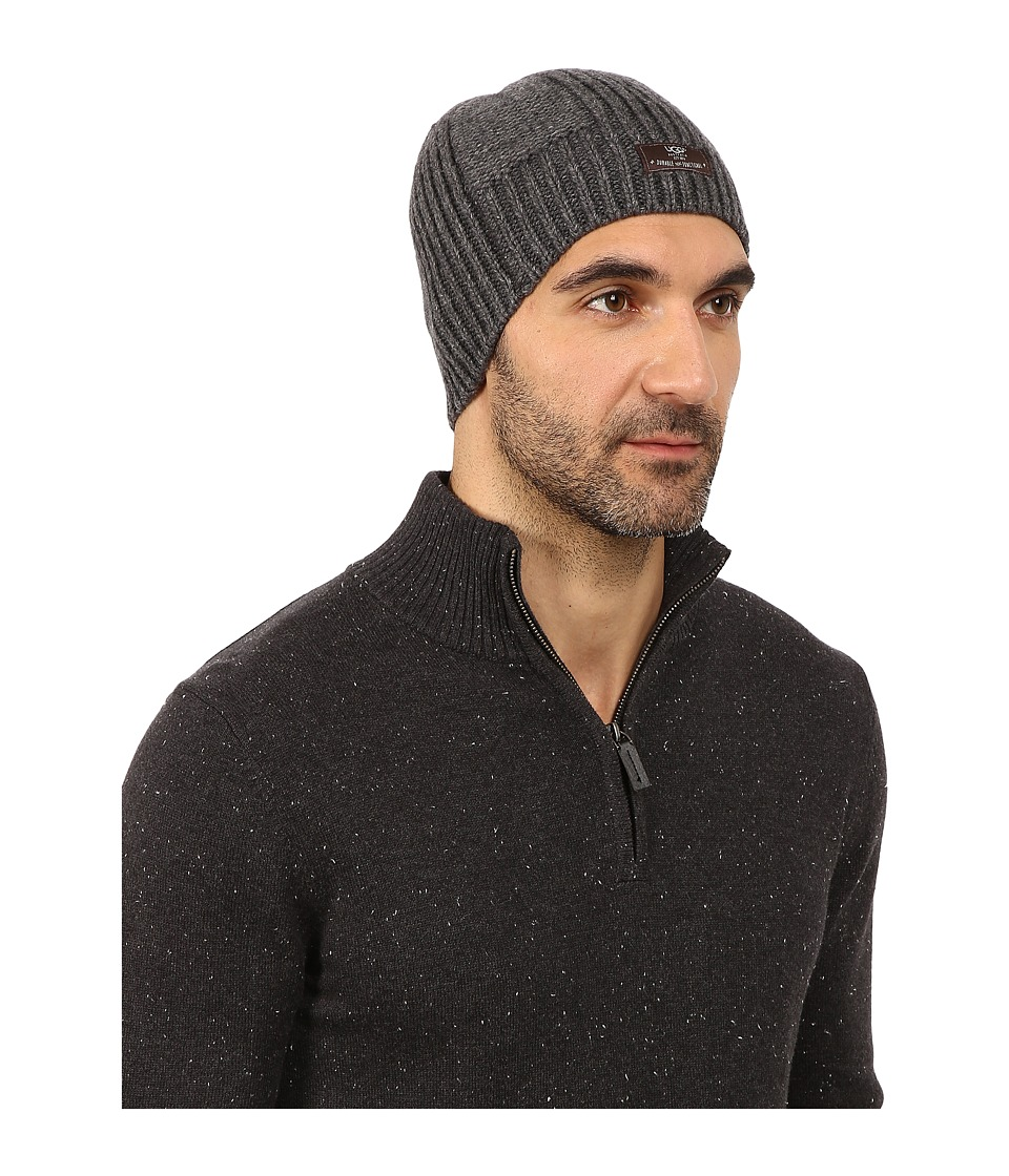 UGG - McLain Wide Rib Beanie (Granite Heather) Beanies