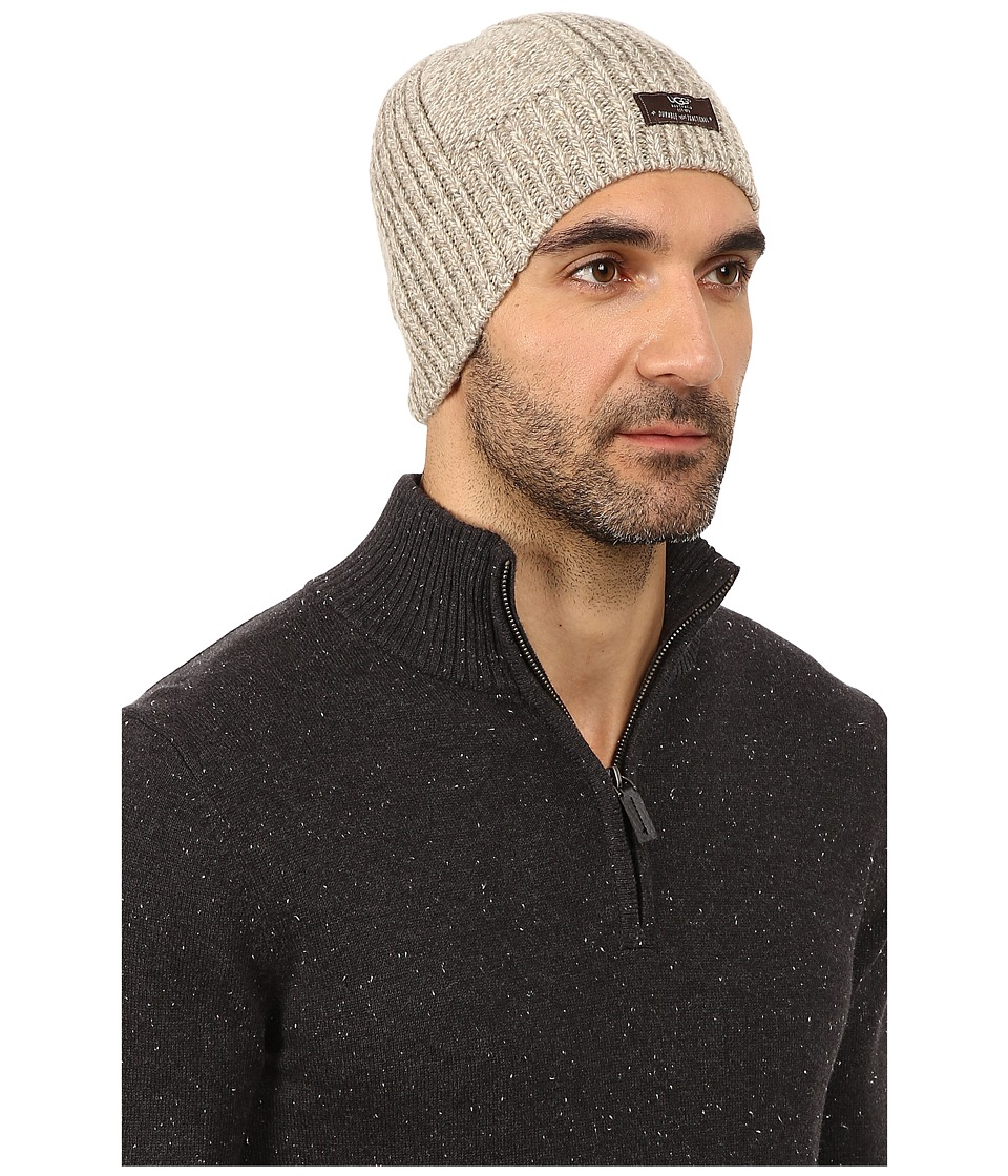 UGG - McLain Wide Rib Beanie (Oatmeal/Heather) Beanies