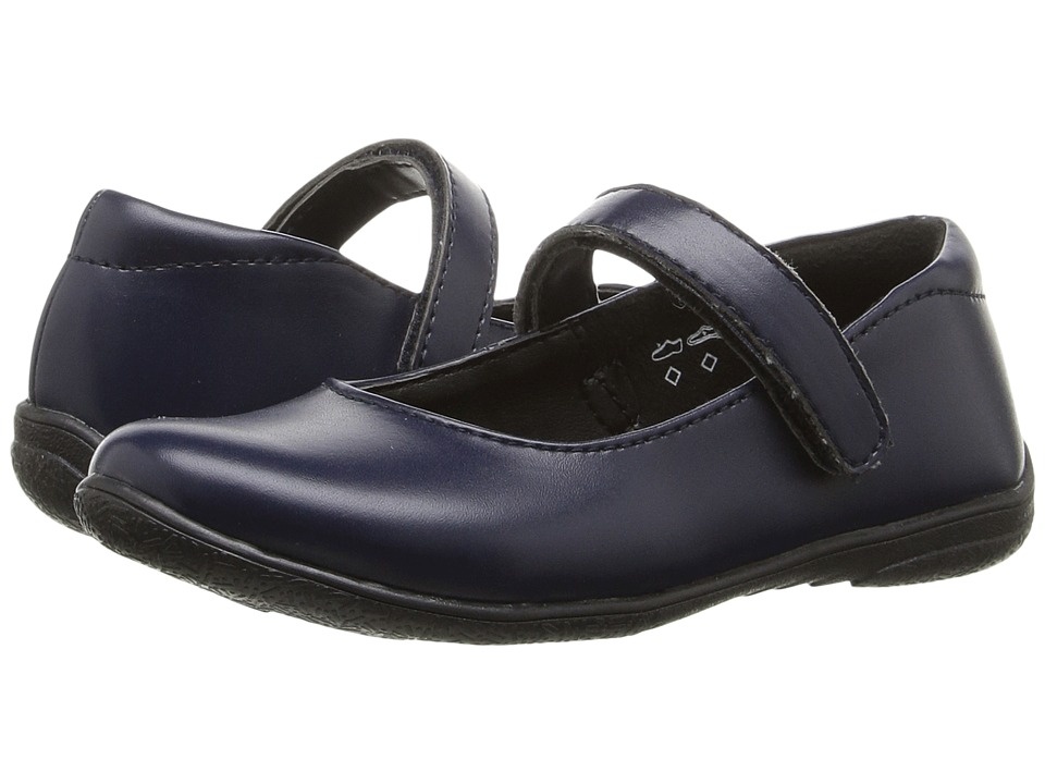 Umi Kids - School Lana (Toddler/Little Kid/Big Kid) (Navy) Girls Shoes