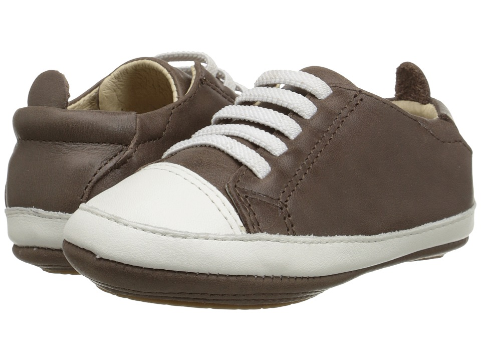 Old Soles - Eazy Tread (Infant/Toddler) (Distressed Brown/White) Boy's Shoes