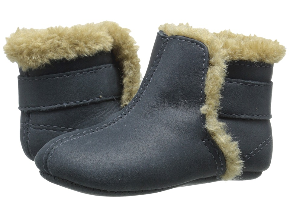 Old Soles - Polar Boot (Infant/Toddler) (Distressed Navy) Kids Shoes