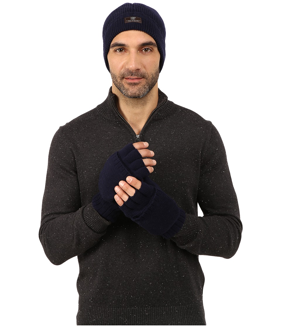 UGG - Heritage Gift Set (Peacoat) Extreme Cold Weather Gloves