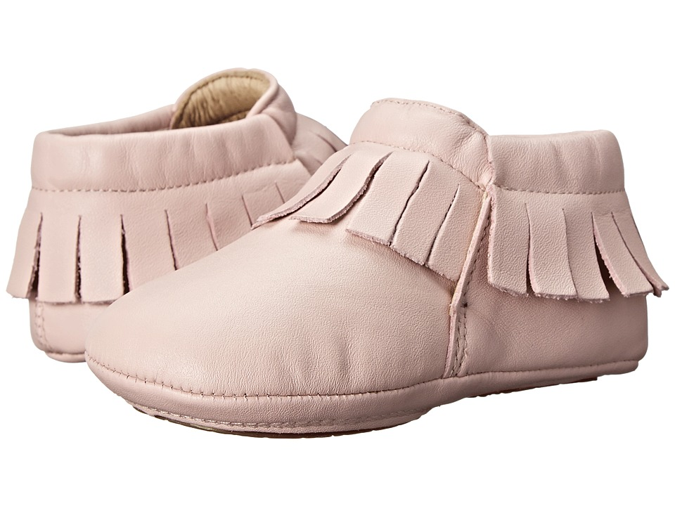 Old Soles - Fringe Boot (Infant/Toddler) (Powder Pink) Girls Shoes