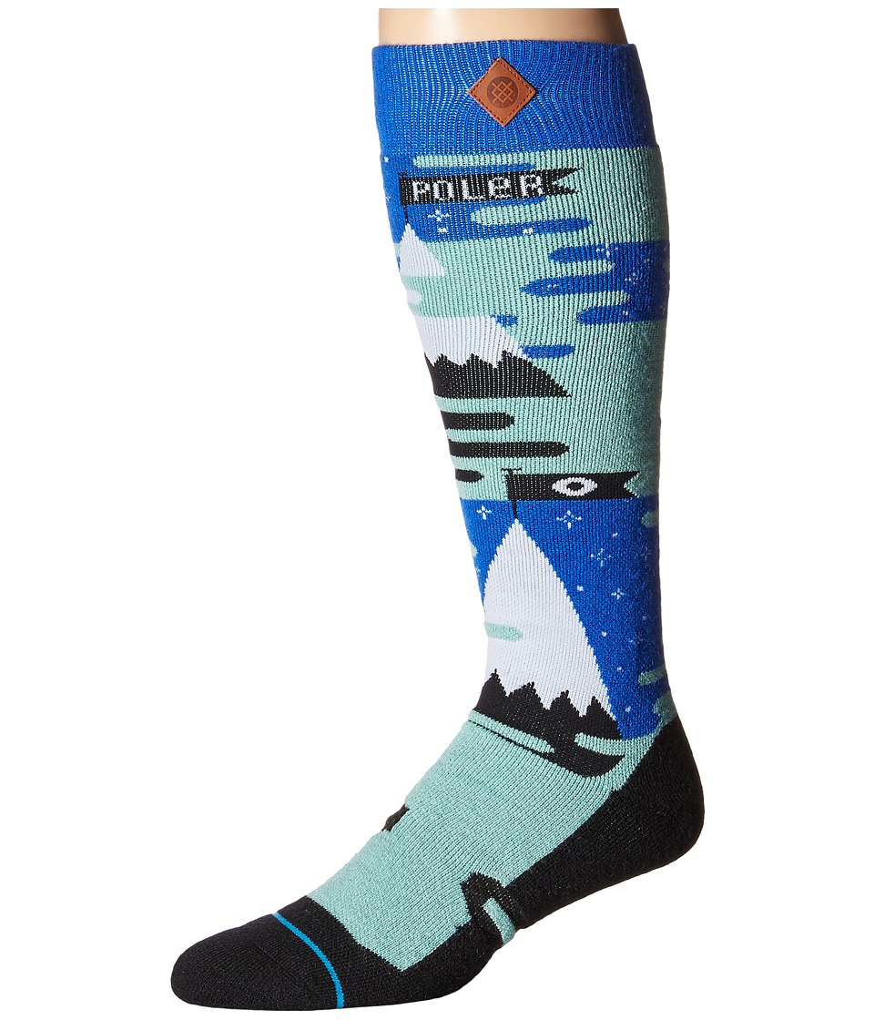 Stance - North Poler (Mint) Men's Crew Cut Socks Shoes
