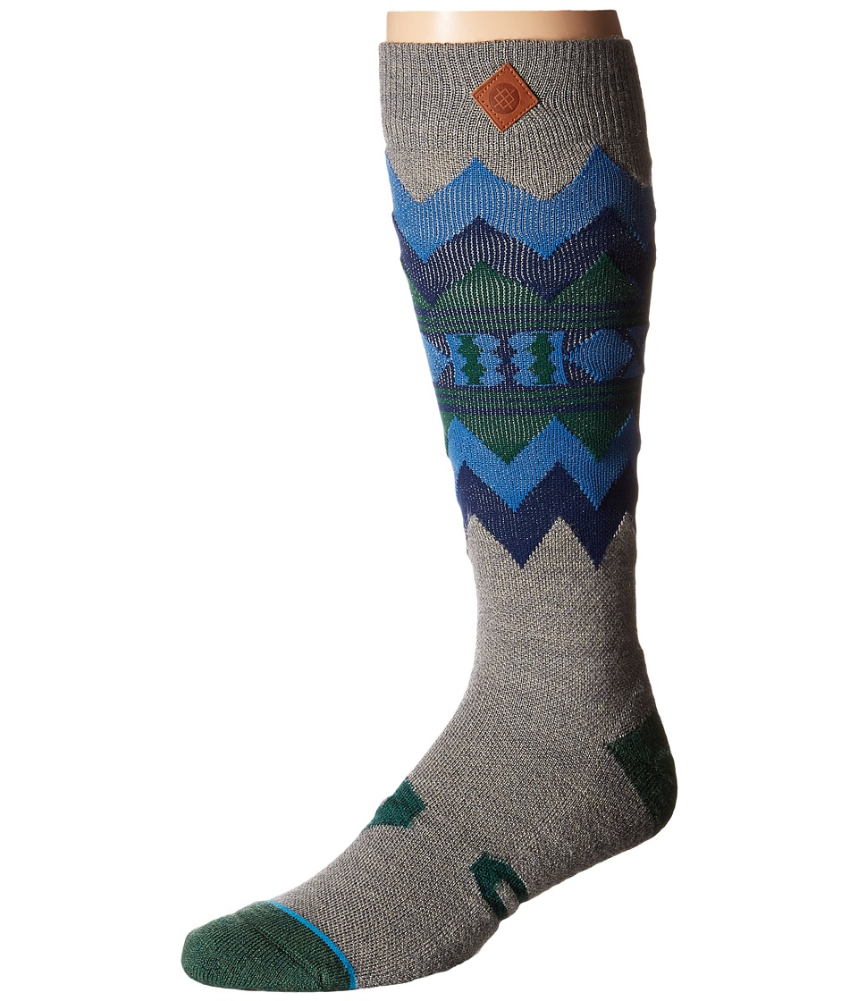 Stance - Rainier (Tan) Men's Crew Cut Socks Shoes