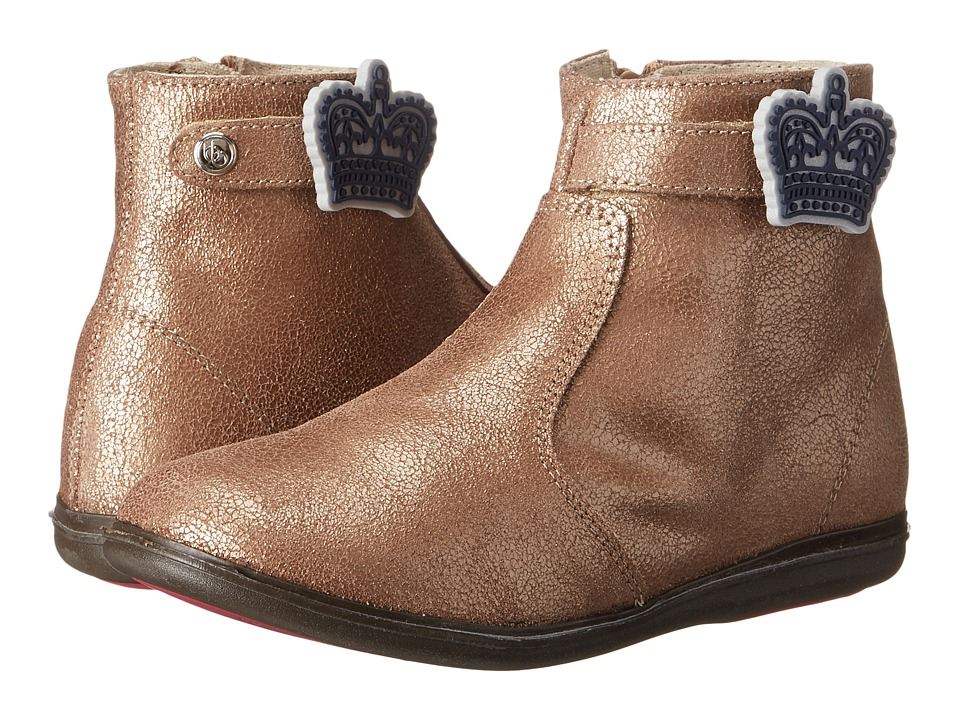 Bumbums & Baubles - Larken (Toddler/Little Kid/Big Kid) (Gold Shimmer) Girls Shoes