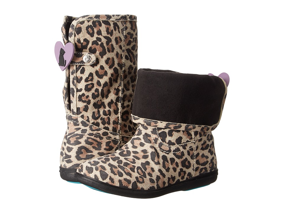 Bumbums & Baubles - Stella (Toddler/Little Kid/Big Kid) (Leopard) Girls Shoes
