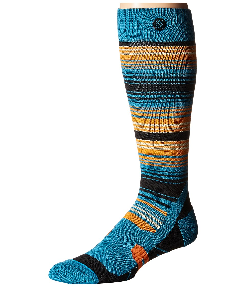 Stance - Portillo (Blue) Men's Crew Cut Socks Shoes