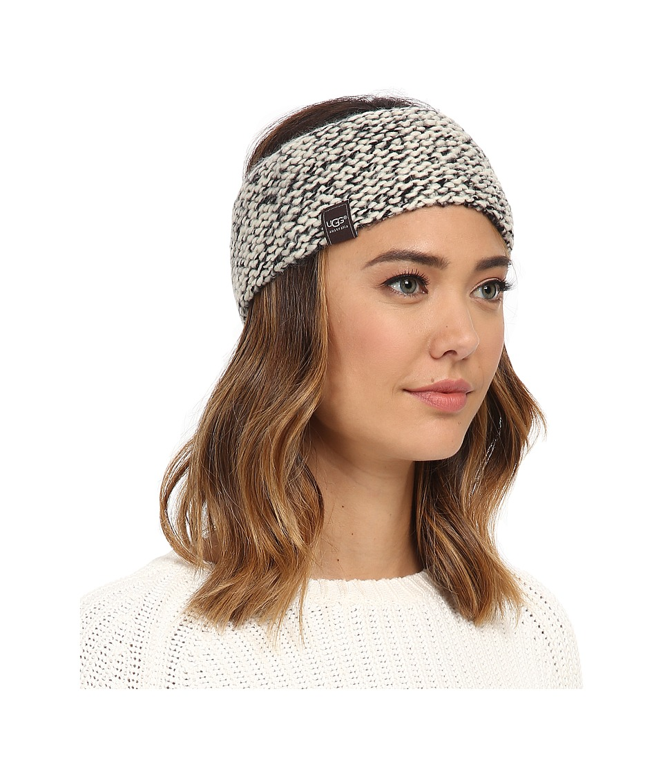 UGG - Grand Meadow Novelty Headband (Black Multi) Traditional Hats