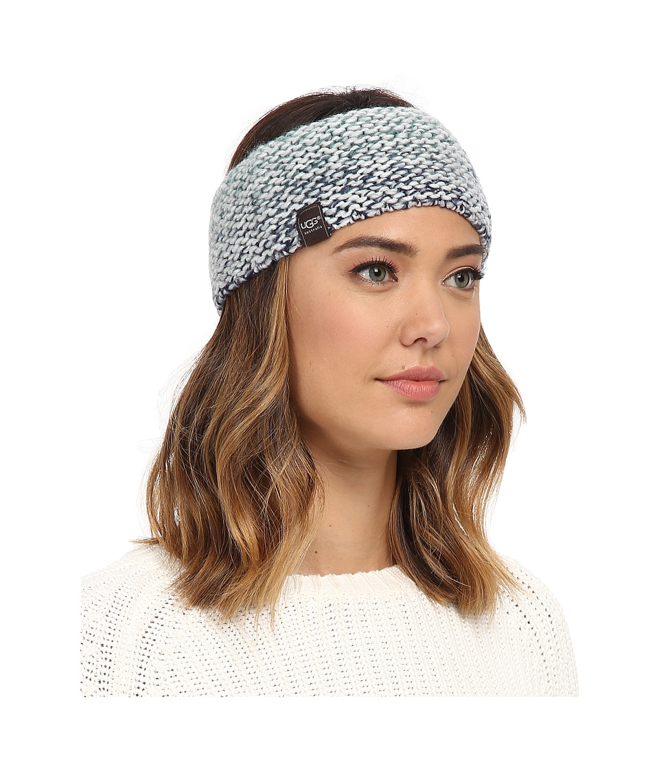 UGG - Grand Meadow Novelty Headband (Navy Multi) Traditional Hats