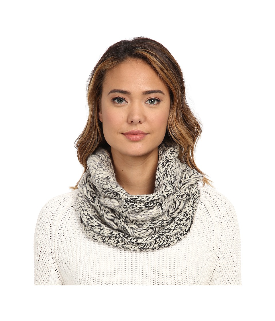 UGG - Grand Meadow Novelty Cable Snood (Black Multi) Scarves