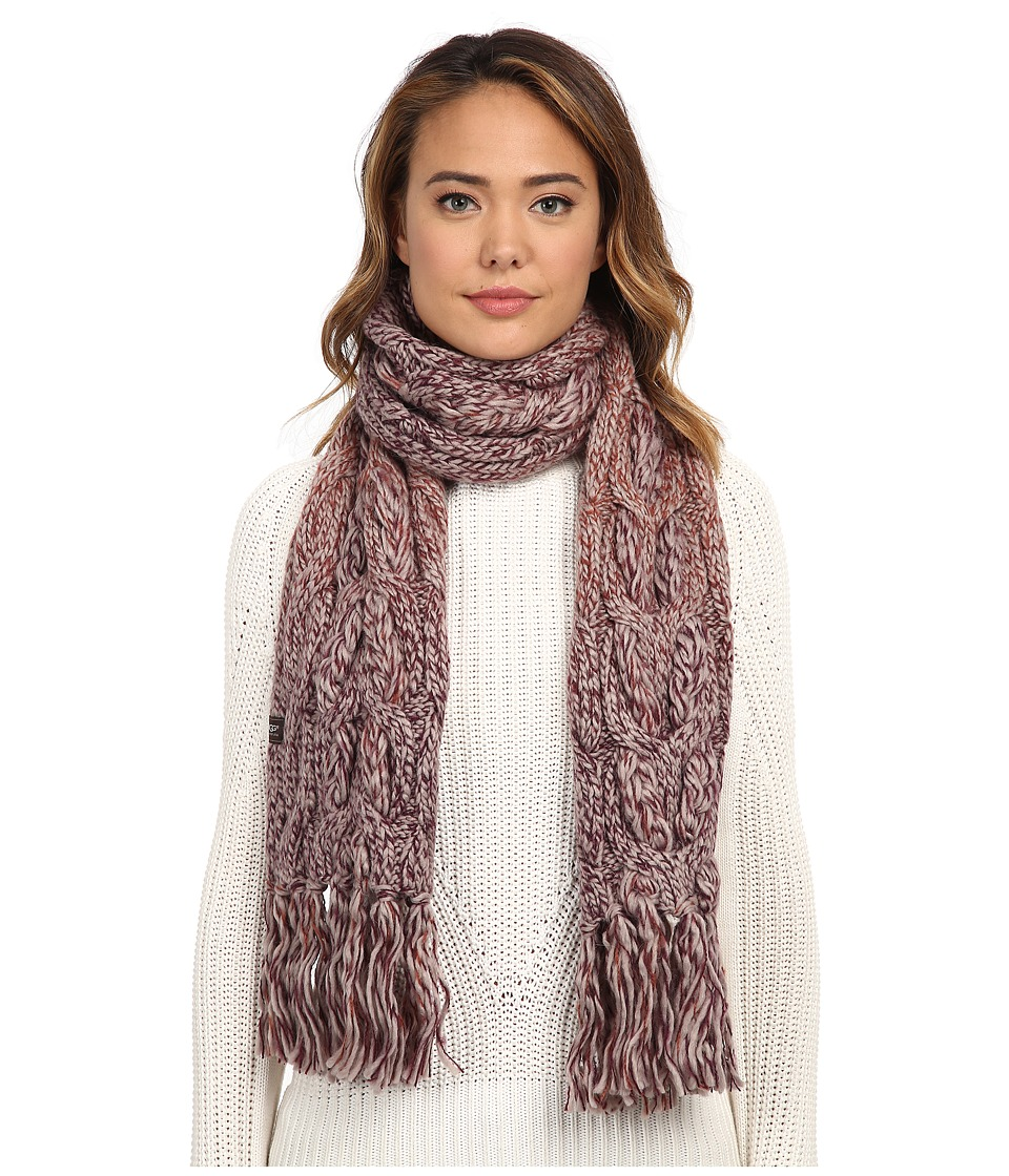 UGG - Grand Meadow Novelty Cable Fringe Scarf (Aster Multi) Scarves