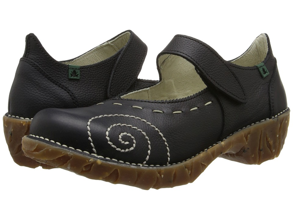 El Naturalista - Yggdrasil N095 (Black 2) Women's Maryjane Shoes