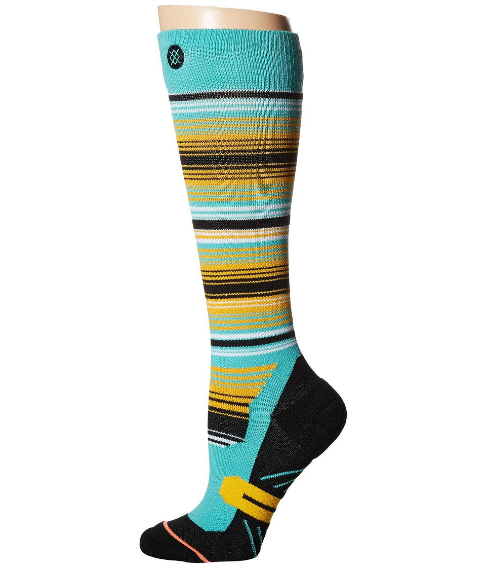Stance - La Hoya (Teal) Women's Crew Cut Socks Shoes
