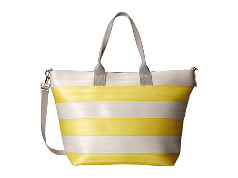 Harveys Seatbelt Bag - Medium Streamline Tote (Buttercup/Dove) Tote Handbags