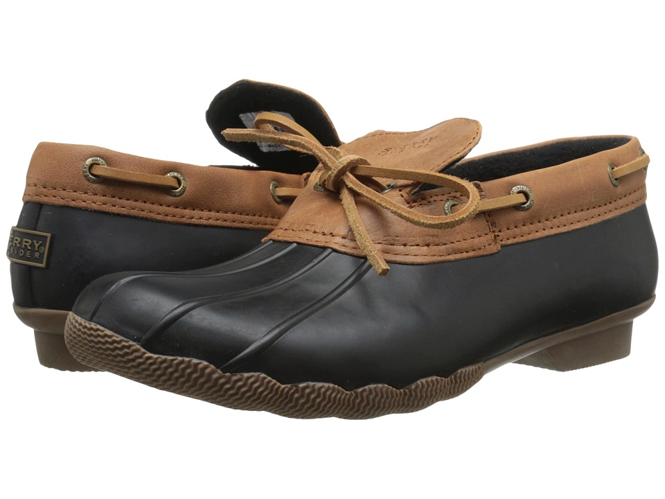 Sperry - Cormorant (Black/Tan) Women's Lace up casual Shoes