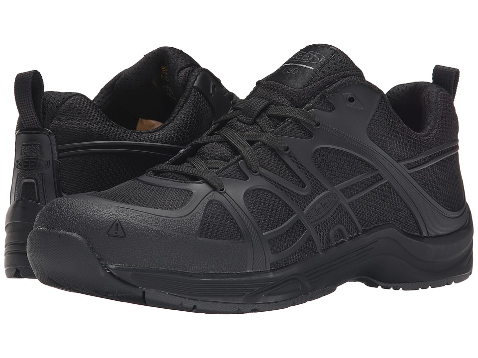 Keen Utility - Durham AT ESD (Black) Men's Industrial Shoes
