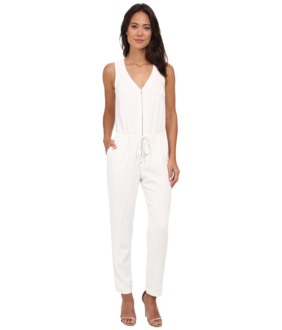 Trina Turk - Fauve Jumpsuit (Whitewash) Women's Jumpsuit & Rompers One Piece