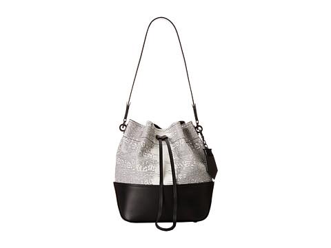 ZAC Zac Posen - Eartha Envelope Drawstring (White) Drawstring Handbags
