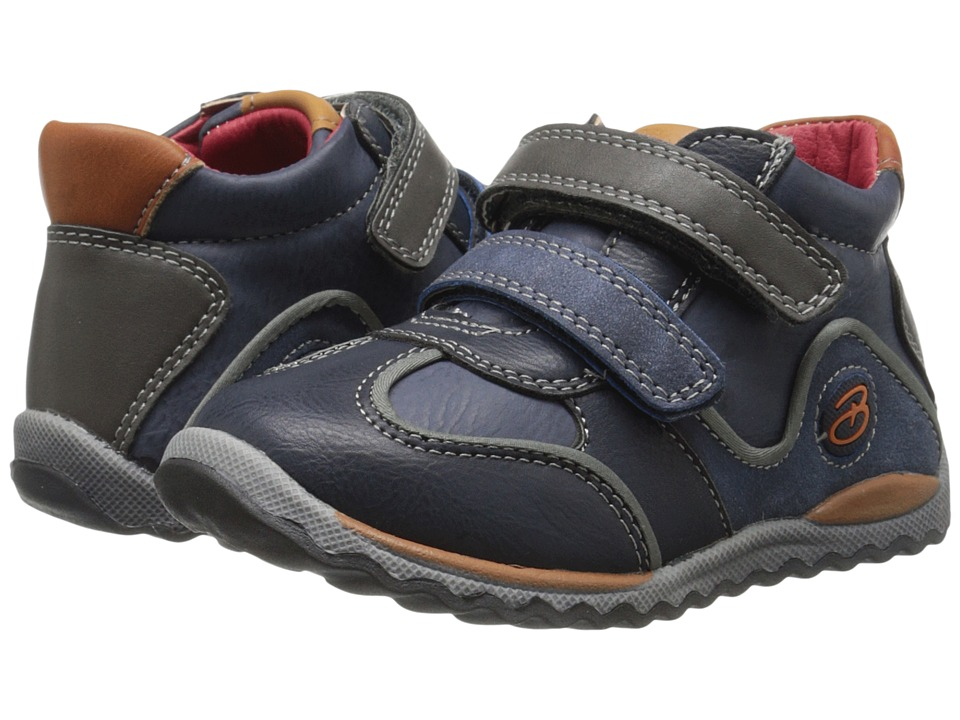 Beeko - Owen (Toddler) (Navy) Boy's Shoes