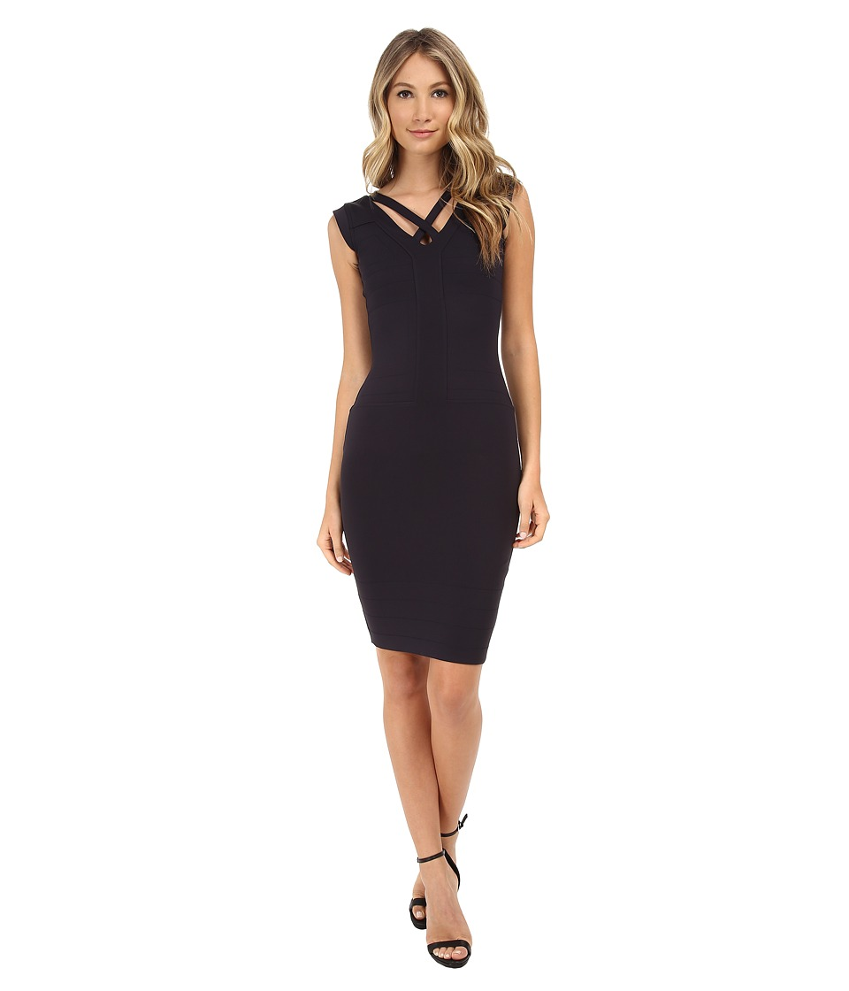 French Connection - Fast Quinn (Utility Blue) Women's Dress