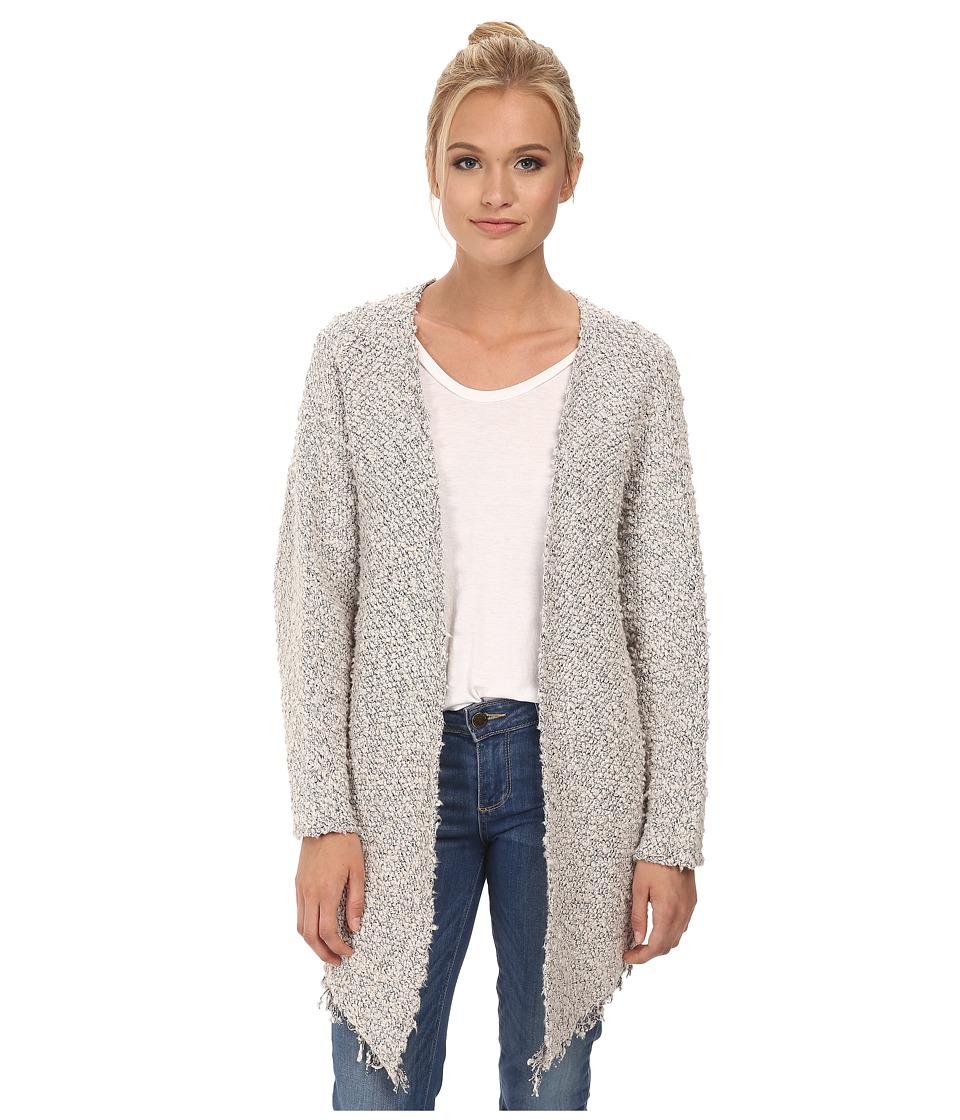 Maison Scotch - Throw-on Longer Length Knitted Cardigan (White) Women's Sweater