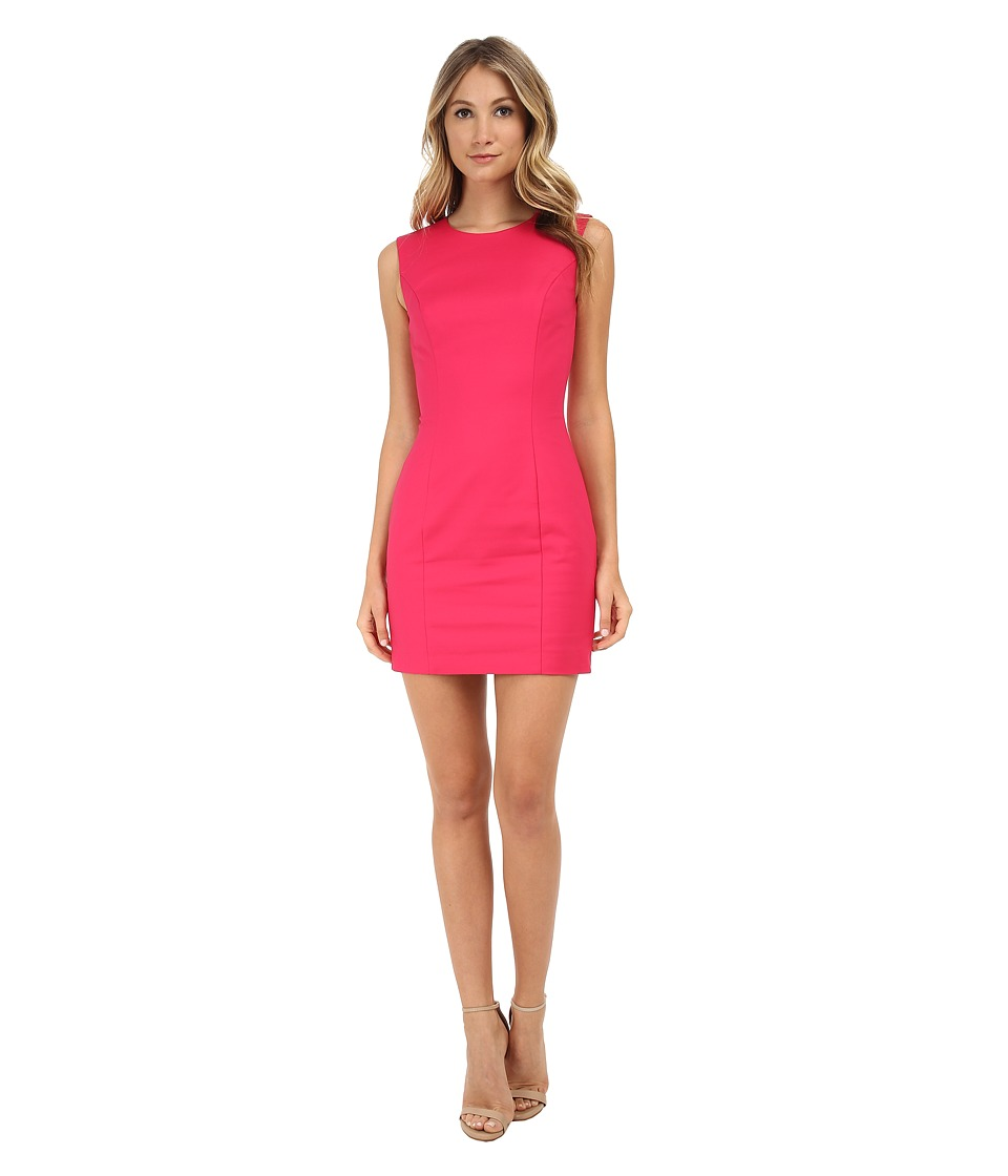 French Connection - Super Stretch Dress 71DLO (Passion Pink) Women's Dress
